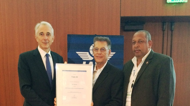 45 Tropic Air recieves ISSA Certification