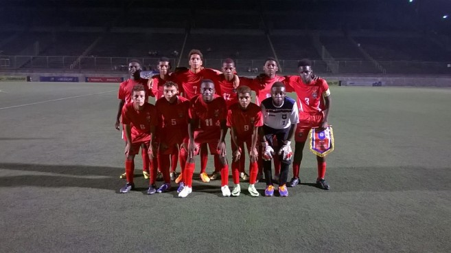 46 Belize at UNCAF u16 Tournament