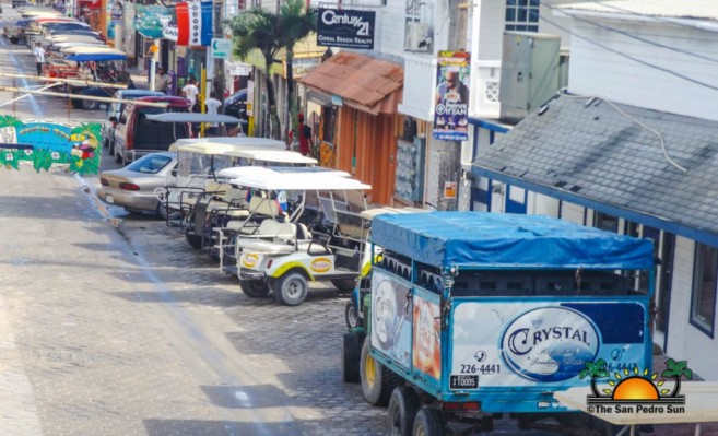 Increase Traffic on Ambergris Caye-2