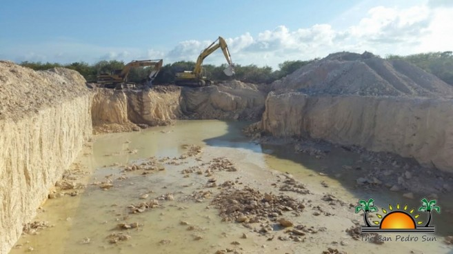 Northern Ambergris Caye Quarry Fidel Ancona-2