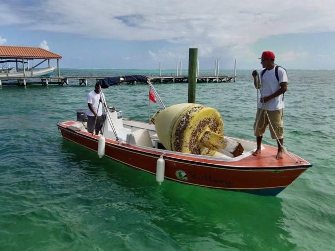 47 Belize Diving Adventure installs marker-2