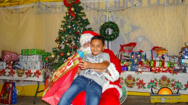 Children's Lions Christmas Party-16