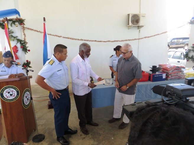 US Embassy Donates to Coast Guard (1)