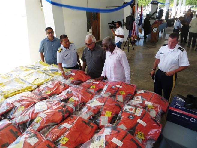 US Embassy Donates to Coast Guard (2)