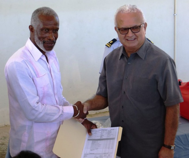 US Embassy Donates to Coast Guard (3)