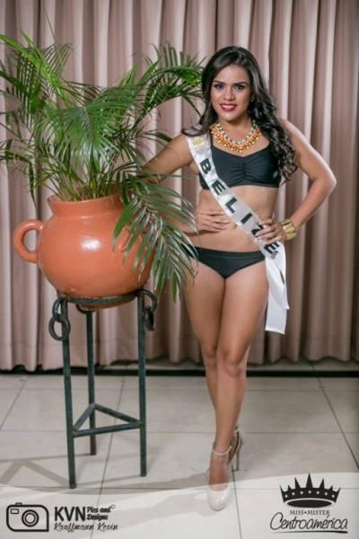 Yakarelis Hernandez at Miss Centroamerica-1