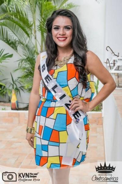 Yakarelis Hernandez at Miss Centroamerica-2
