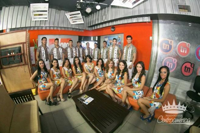 Yakarelis Hernandez at Miss Centroamerica-3