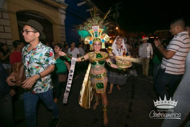 Yakarelis Hernandez at Miss Centroamerica-4