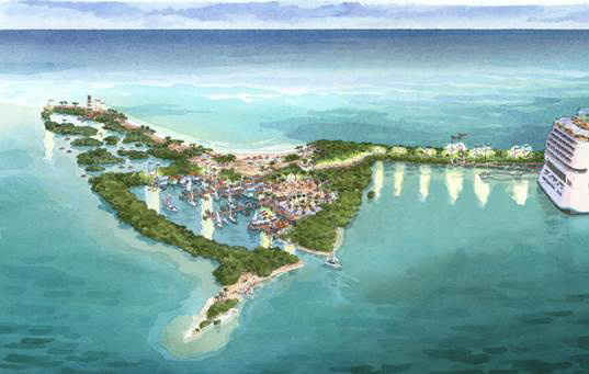 Harvest Caye Project Rendering