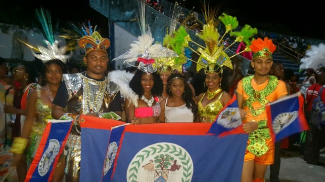 Belize in Nigerian Carnival (1)