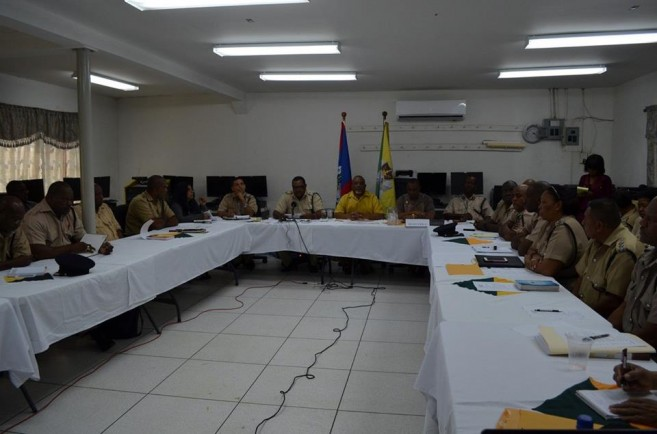 06 Belize Police Department Regional Commanders Conference