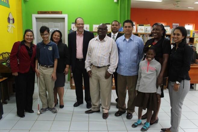 CARICOM Donates to Leo Bradley Libary (2)