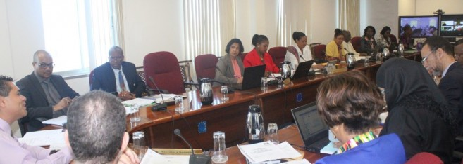 The Meeting of the Committee of Ambassadors, January 2016 at the CARICOM Secretariat