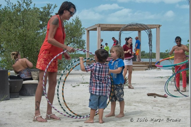 Hula hooping  at Stella's Smile by Karen Brodie Photography