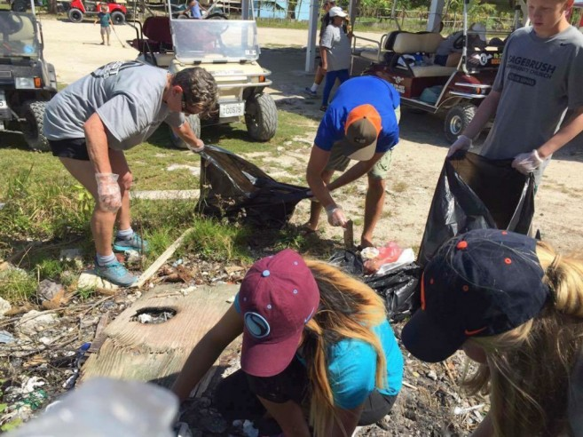 Sagebrush Cleanup Campaign North Ambergris Caye-1