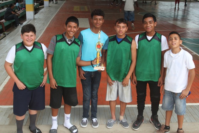 San Pedro RC boys won island champs