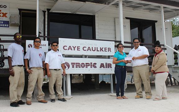 10 Tropic Air Donates CC