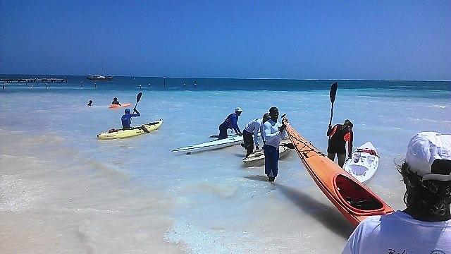 Caye Caulker Kayak Island Challenge (3)