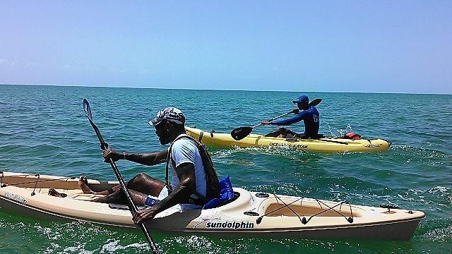 Caye Caulker Kayak Island Challenge (8)