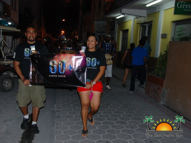Oceana Belize Earth Hour-5