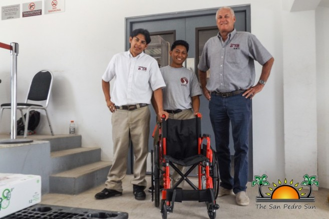 Rotary Club San Pedro Wheelchair Donation-1