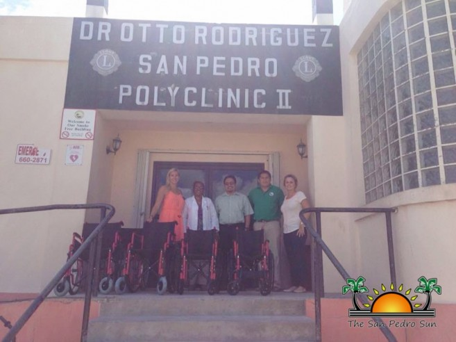 Rotary Club San Pedro Wheelchair Donation-3