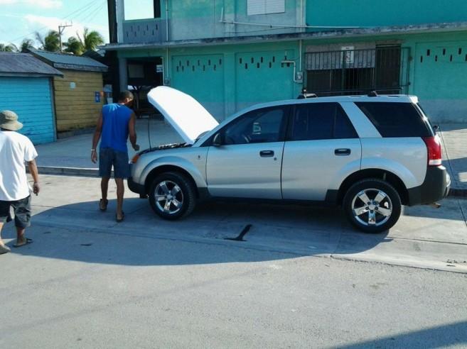 16 Matachica Donates Police Vehicle