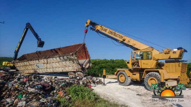 Garbage Container Caribbean Depot Island Construction-12