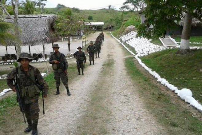 Guatemalan Military deployed to Peten