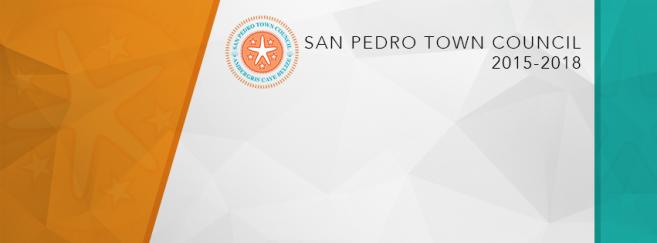San pedro Town Council