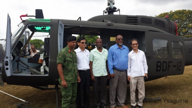 Taiwan Donates Helicopters to Belize-1