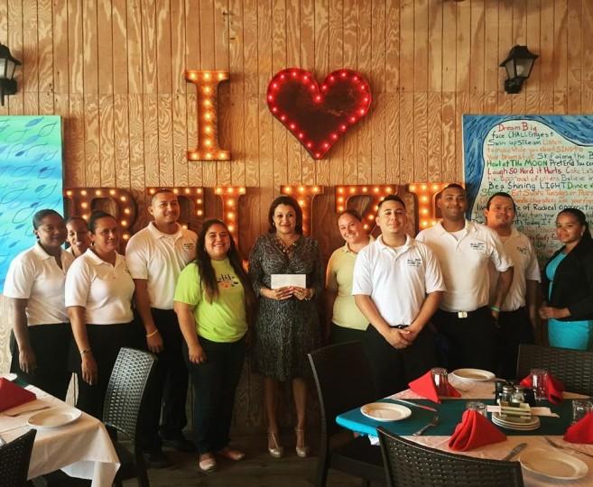 19 BWG donates to Camp Starfish