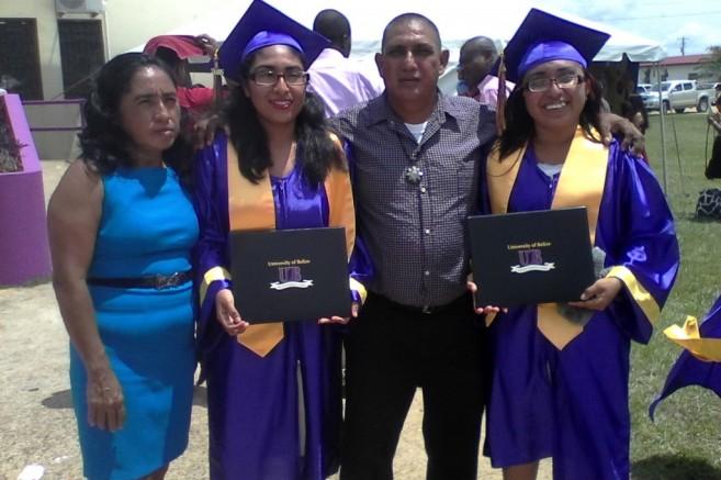 24 Sanchez Sisters Graduate