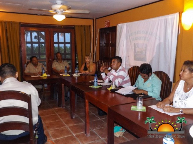 People Coalition Meeting North Ambergris Caye-2