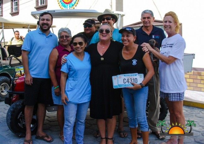 San Pedro Town Council Donates to Saga-2