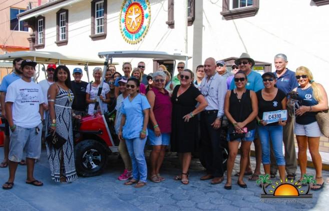 San Pedro Town Council Donates to Saga-3