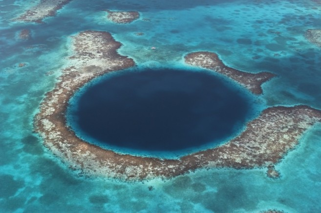 The Blue Hole Natural Monument at Lighthouse Atoll is part of the Belize Barrier Reef Reserve System World Heritage Site and a popular dive site. All web usage, social media, press release and print. Worldwide 5 years. No 3rd party usage without explicitly mentioning WWF. No merchandising use.