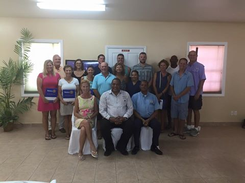 27 Rotary Club of Ambergris Caye officiall chartered-1