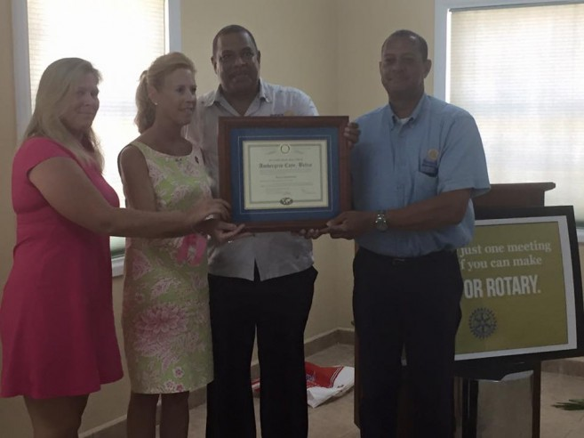 27 Rotary Club of Ambergris Caye officiall chartered-2