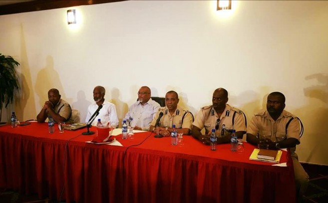 Speakers at a press conference held on Monday, July 18th regarding the incident