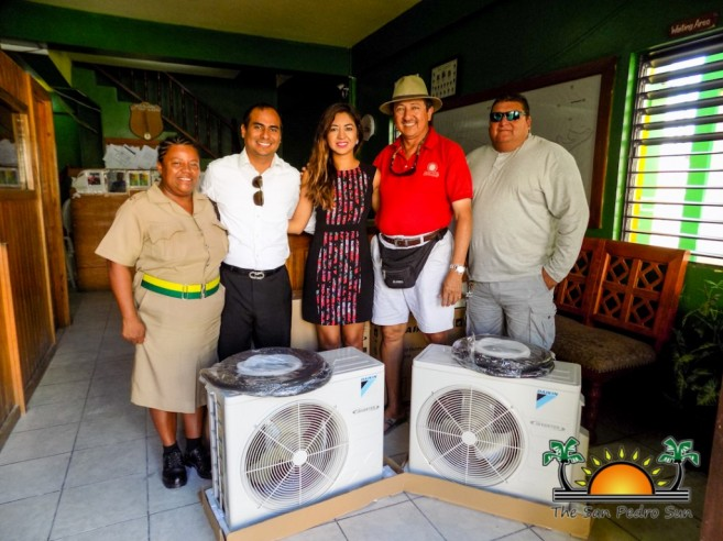 AC Units Donated San Pedro Police-2
