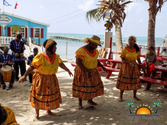 Garifuna Presentation at San Pedro Town Library-6