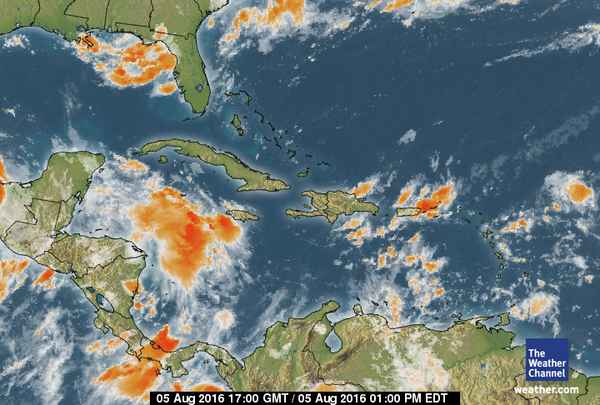31 Caribbean Wather Outlook