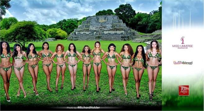 32 Miss Belize universe