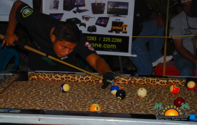 Ambergris Caye Belikin 8-Ball Pool Tournamnet-5