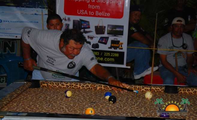 Ambergris Caye Belikin 8-Ball Pool Tournamnet-6