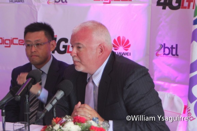 William Levy, Vice President of Sales for Huawei Technologies China