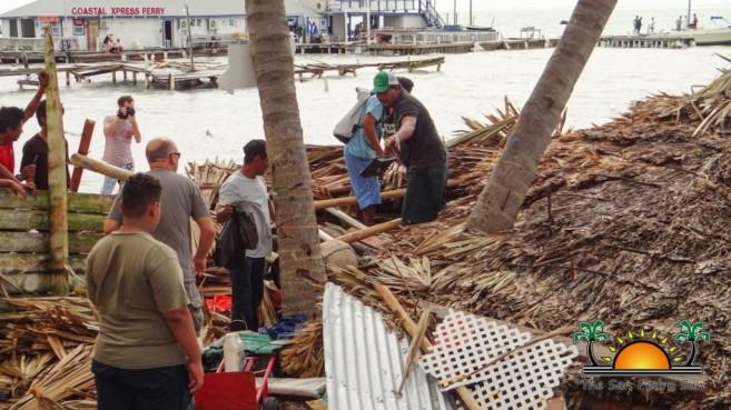 Hurricane Earl Category 1 Ambergris Caye Caulker-10