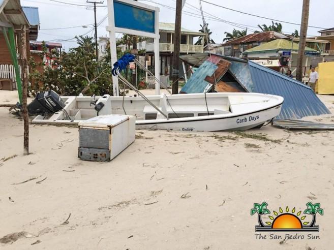 Hurricane Earl Category 1 Ambergris Caye Caulker-19